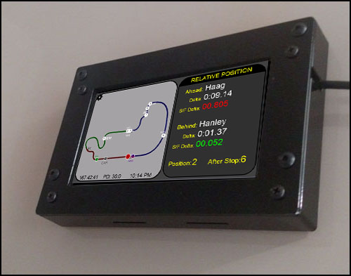 Z1 Dashboard : Connecting the LCD Screen